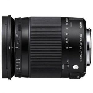 SIGMA 18-300MM F/3.5-6.3