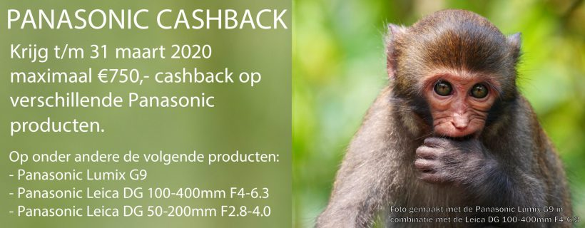Panasonic Cashback foto rooijmans