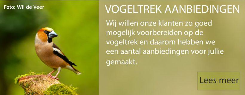 vogeltrek aanbiedingen banner website